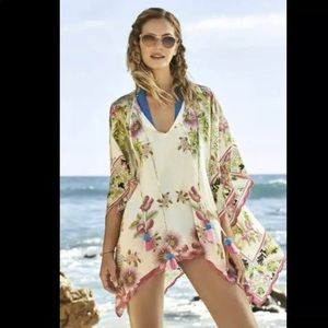 Johnny Was Galore Tassel Blouse Coverup